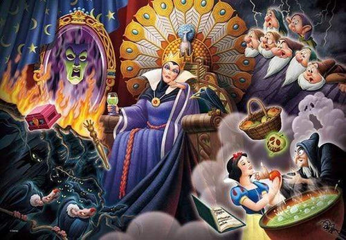 5D Diamond Painting Evil Queen Collage Kit
