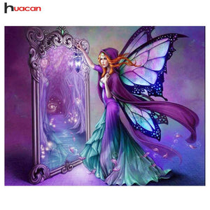 5D Diamond Painting Fairy Reflection Kit
