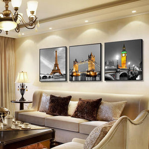 5D Diamond Painting Famous Landmarks Kit