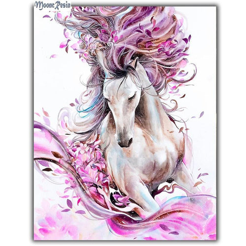 5D Diamond Painting Fantasy Horse Kit