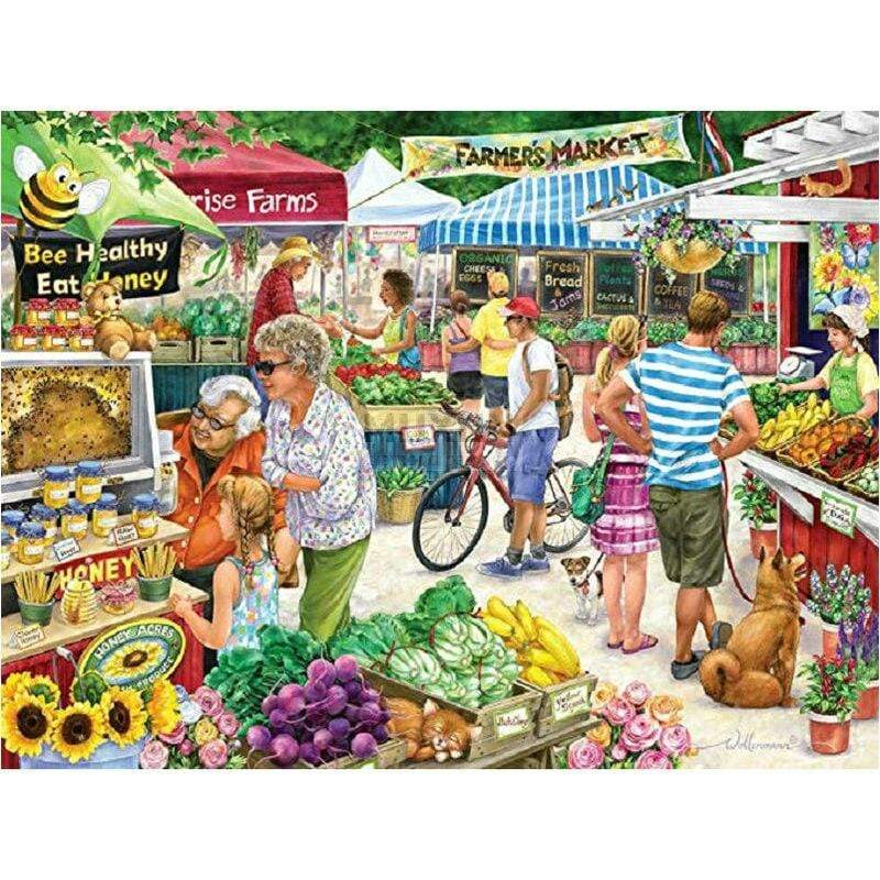 5D Diamond Painting Farmers Market Kit