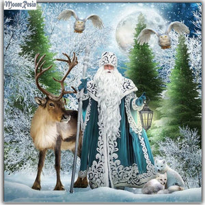 5D Diamond Painting Father Christmas Kit
