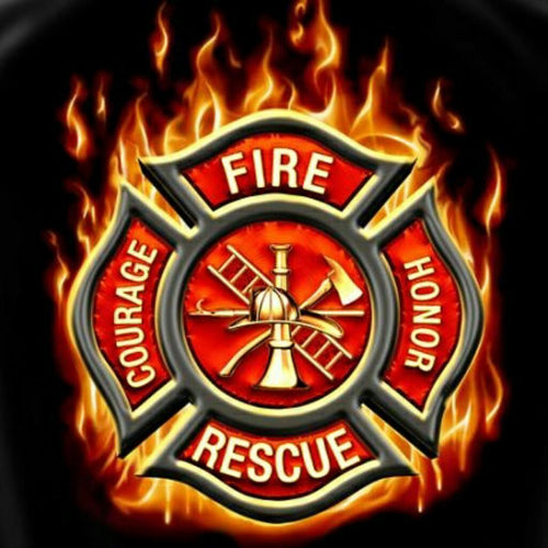 5D Diamond Painting Fire & Rescue Kit