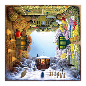 5D Diamond Painting Four Seasons Square Kit