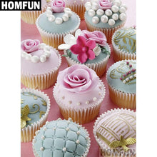 5D Diamond Painting Frosted Cupcakes Kit