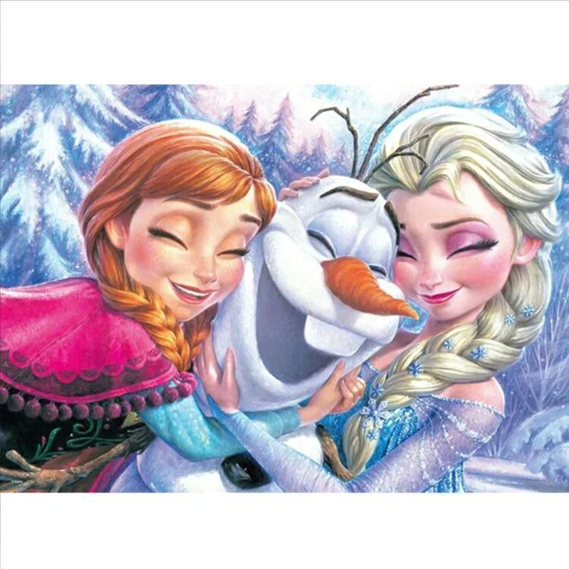 5D Diamond Painting Frozen Hugs Kit
