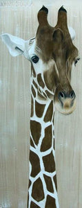 5D Diamond Painting Giraffe Profile Kit