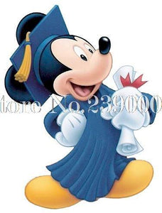 5D Diamond Painting Graduation Mickey Mouse Kit