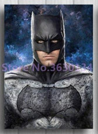 5D Diamond Painting Gray Suit Batman Kit