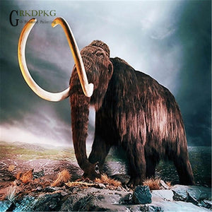 5D Diamond Painting Great Mammoth Kit