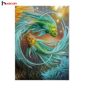 5D Diamond Painting Green Betas Kit