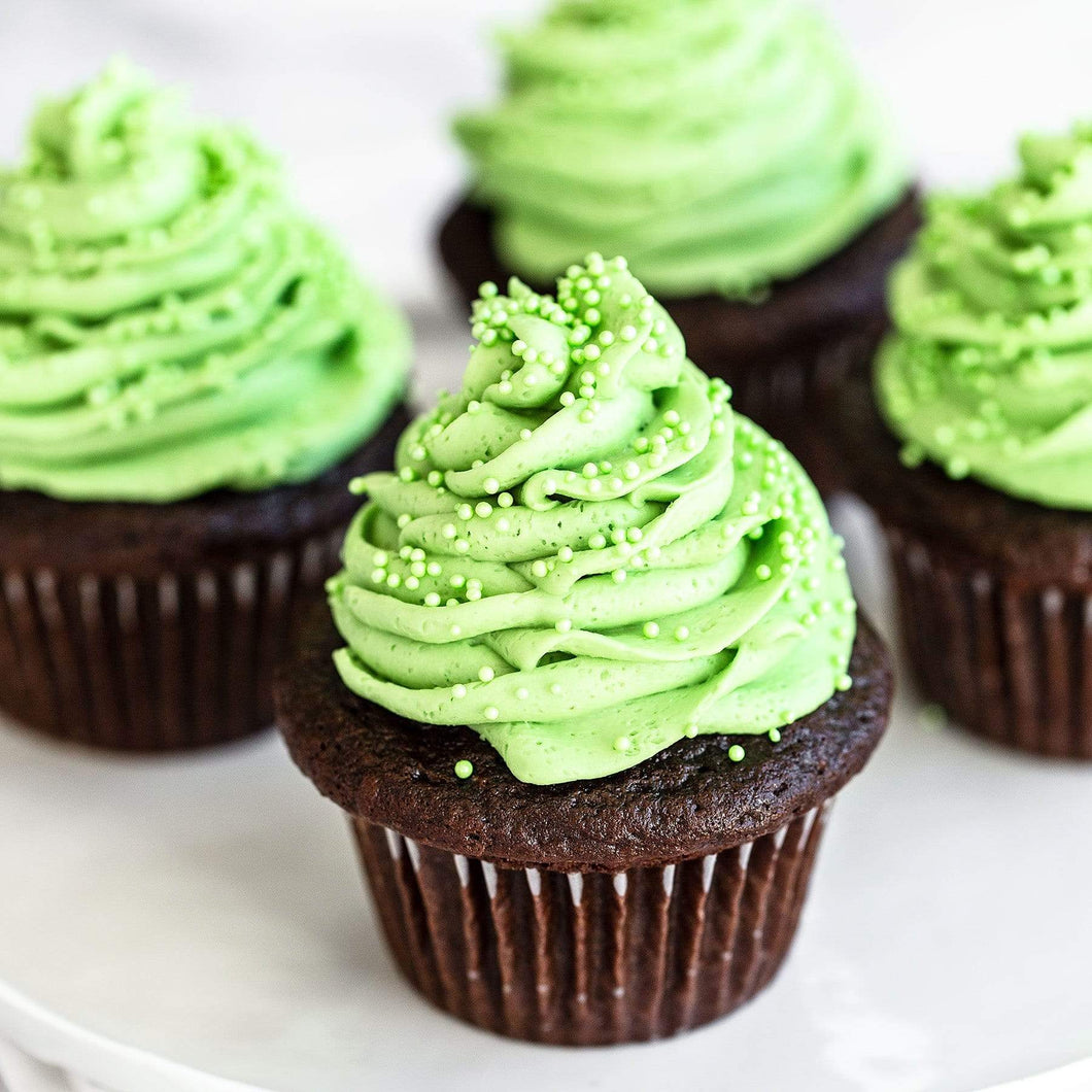 5D Diamond Painting Green Frosted Cupcakes Kit