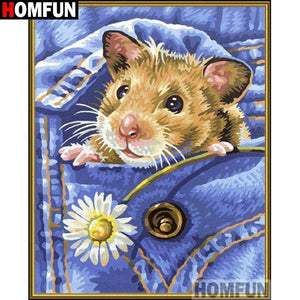 5D Diamond Painting Hamster in my Pocket Kit