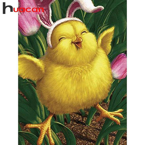5D Diamond Painting Happy Easter Chick Kit
