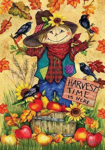 5D Diamond Painting Harvest Time Scarecrow Kit