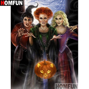 5D Diamond Painting Hocus Pocus Kit