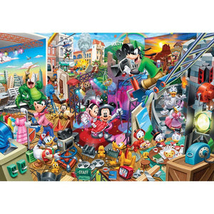 5D Diamond Painting Hollywood Behind the Scenes Mickey Kit