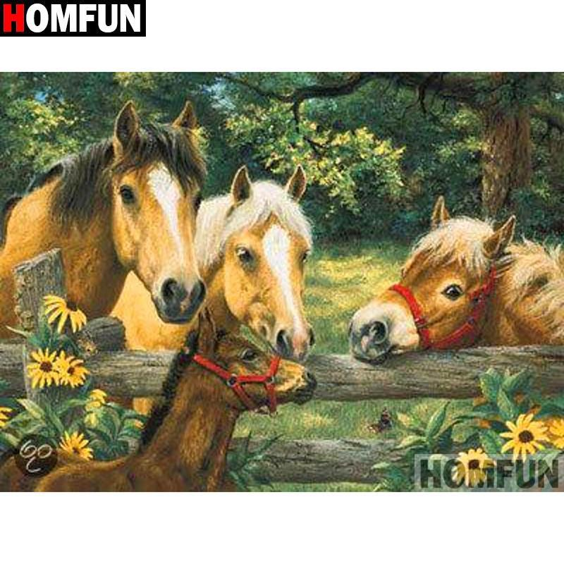 5D Diamond Painting Horse Talk Kit