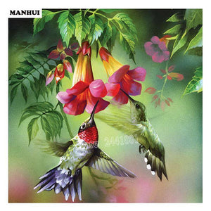 5D Diamond Painting Hummingbirds Kit