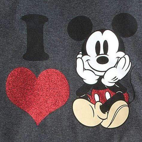5D Diamond Painting I Love Mickey Mouse Kit