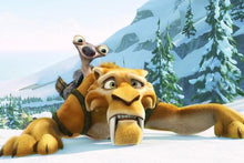 5D Diamond Painting Ice Age Diego and Sid Kit