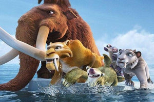 5D Diamond Painting Ice Age Kit