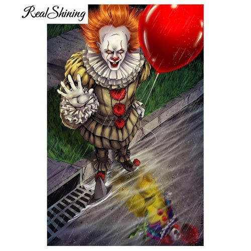 5D Diamond Painting IT Clown Kit