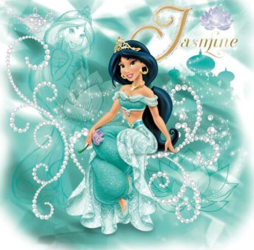 5D Diamond Painting Jasmine Sparkle Kit