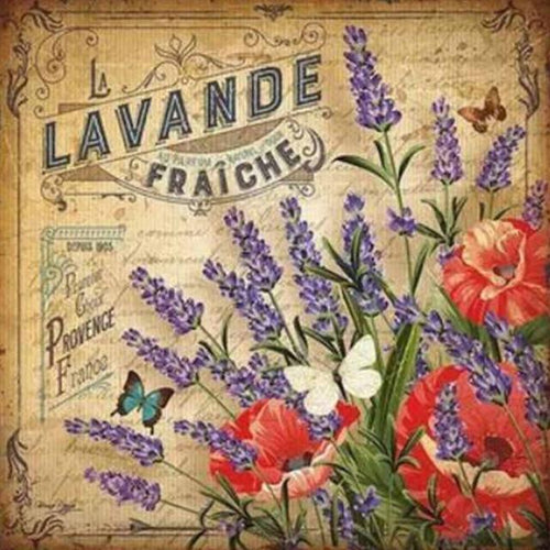 5D Diamond Painting Lavande Fraiche Kit