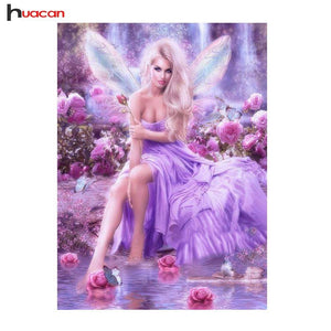 5D Diamond Painting Lavender Fairy Kit