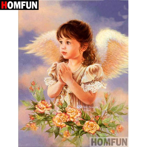 5D Diamond Painting Little Angel Prayers Kit