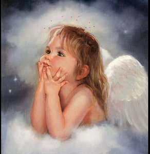 5D Diamond Painting Little Angel Wishes Kit