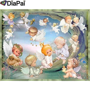 5D Diamond Painting Little Flying Angels Kit