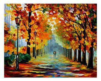5D Diamond Painting Lover Lane Kit