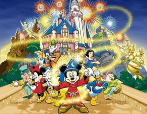 5D Diamond Painting Magic of Disney Kit