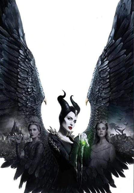 5D Diamond Painting Maleficent & Evil Queen Kit