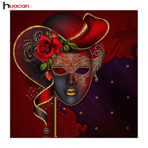 5D Diamond Painting Masquerade Kit
