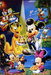 5D Diamond Painting Mickey and Friends Collage Kit