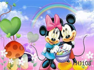 5D Diamond Painting Mickey and Minnie Egg Hunt Kit