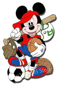 5D Diamond Painting Mickey Mouse All About Sports Kit