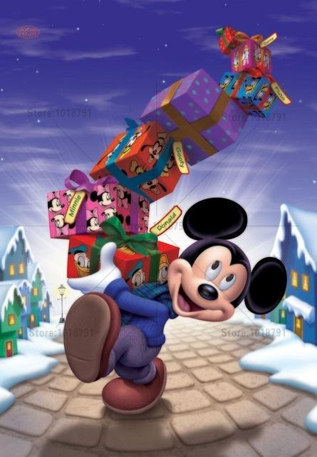 5D Diamond Painting Mickey Mouse Christmas Gifts Kit