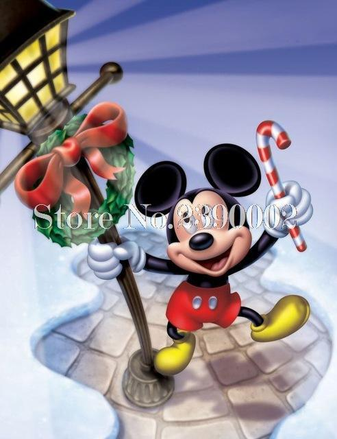 5D Diamond Painting Mickey Mouse Christmas Wreath kit