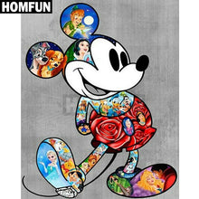 5D Diamond Painting Mickey Mouse Disney Collage Kit