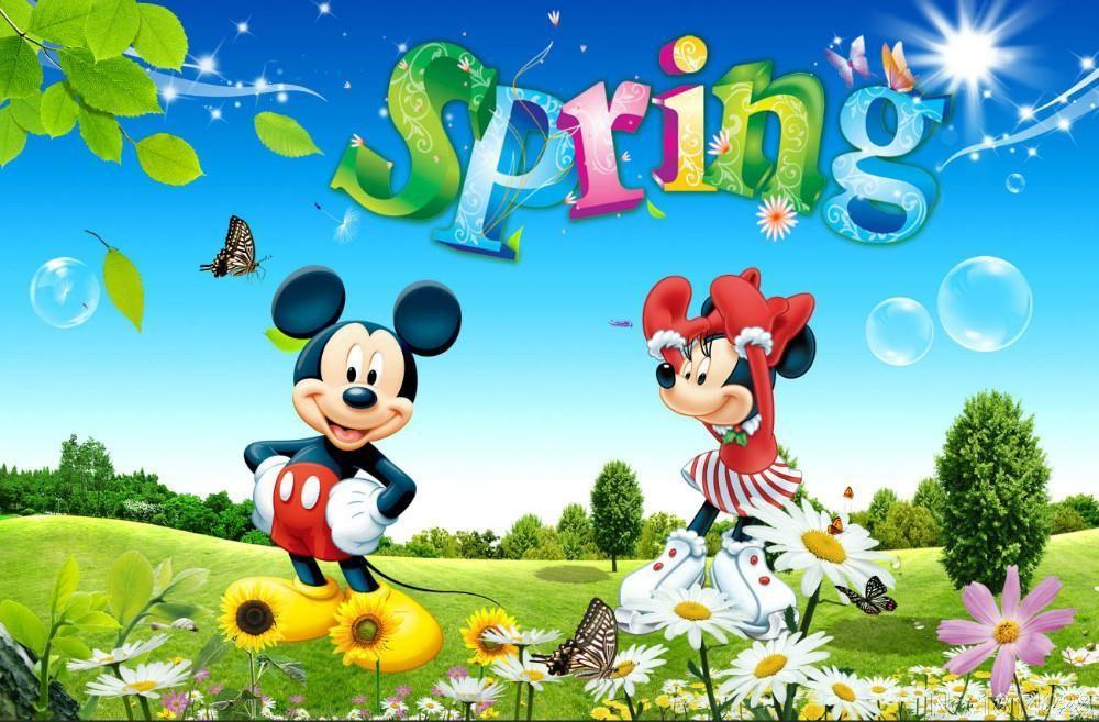 5D Diamond Painting Mickey Mouse Spring Kit