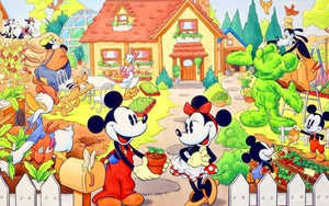 5D Diamond Painting Mickey Mouse Springtime Kit