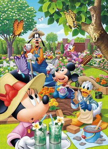 5D Diamond Painting Mickey's Garden Kit