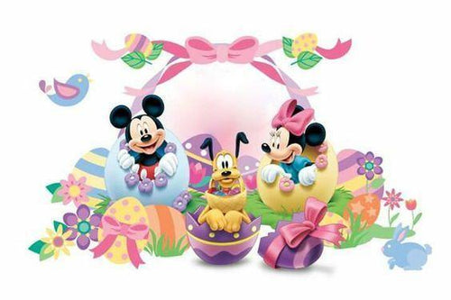 5D Diamond Painting Minnie & Mickey Easter Kit