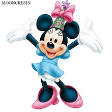 5D Diamond Painting Minnie Mouse Happy Birthday Kit