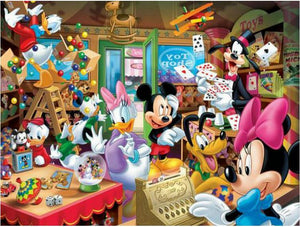 5D Diamond Painting Minnie's Toy Shop Kit