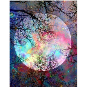 5D Diamond Painting Moon Kit
